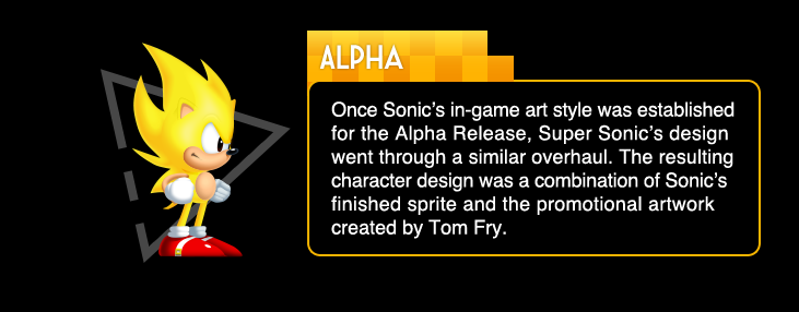 Visual Changelog: Super Sonic